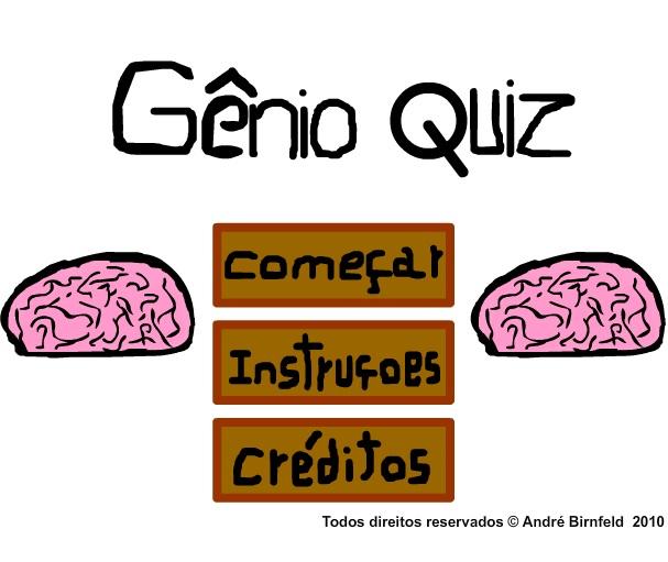 Jogue o Gênio Quiz 1 grátis