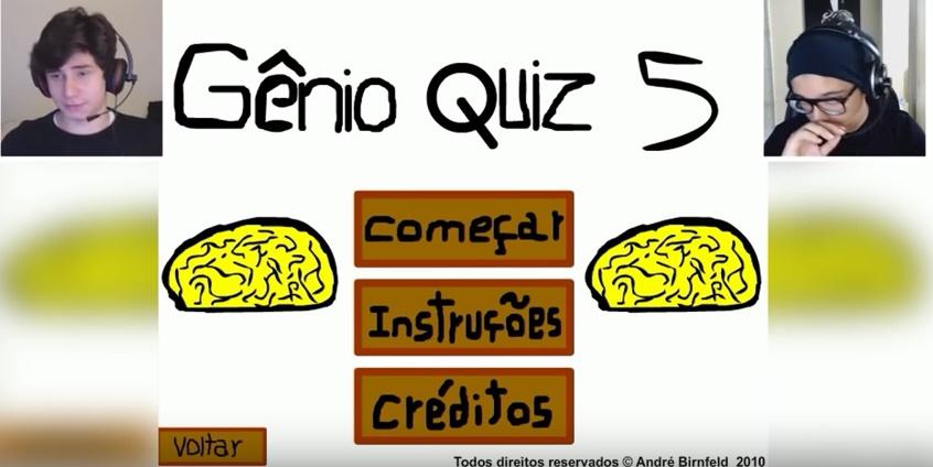 TazerCraft jogando o Gênio Quiz 5