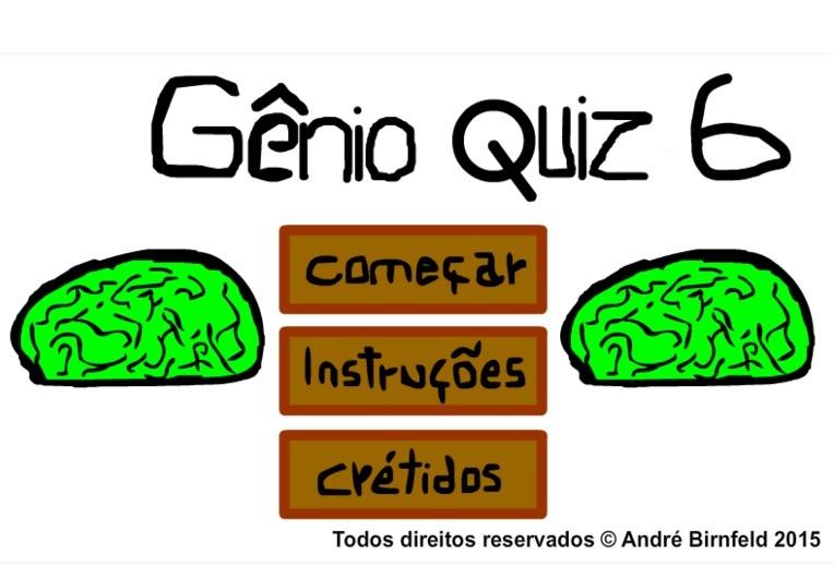 Gênio Quiz 6 grátis