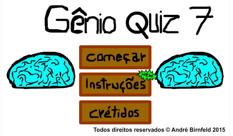 Gênio Quiz 7 grátis