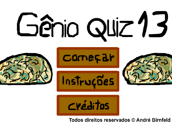 Gênio Quiz 13 jogue o Gênio Quiz