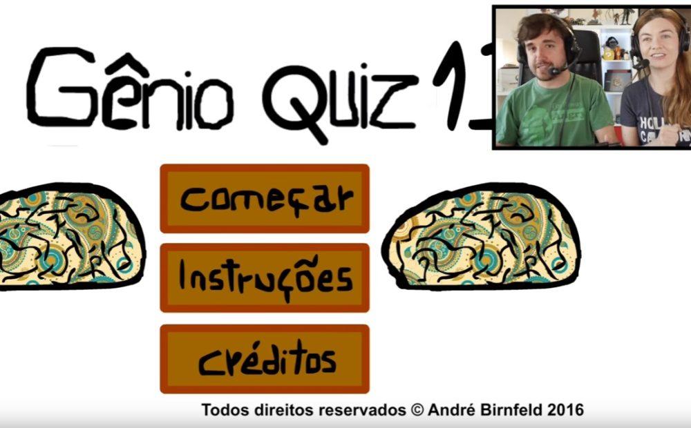 Coisa de Nerd jogando o Gênio Quiz 13