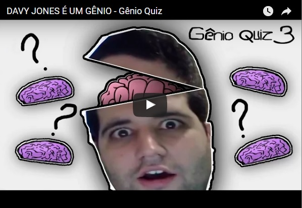 Davy Jones jogando o Gênio Quiz 3