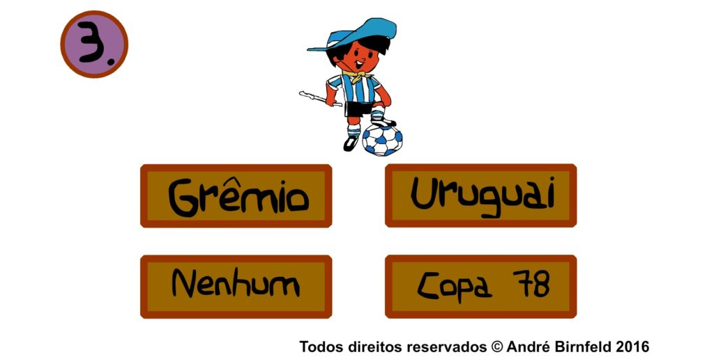 Gênio Quiz Futebol mascotes