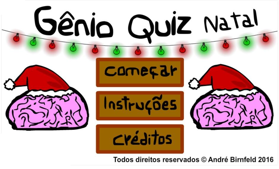Gênio Quiz Natal capa