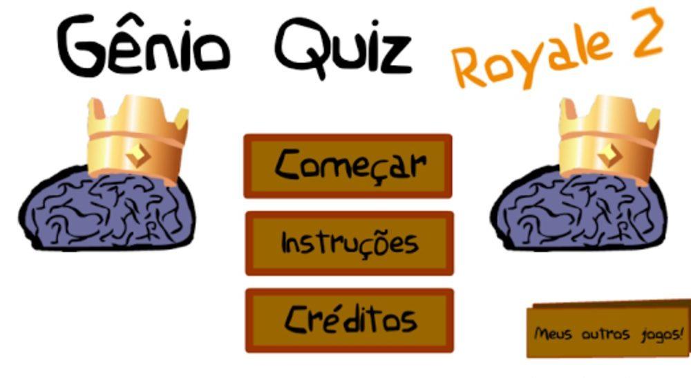 Gênio Quiz Royale 2 capa