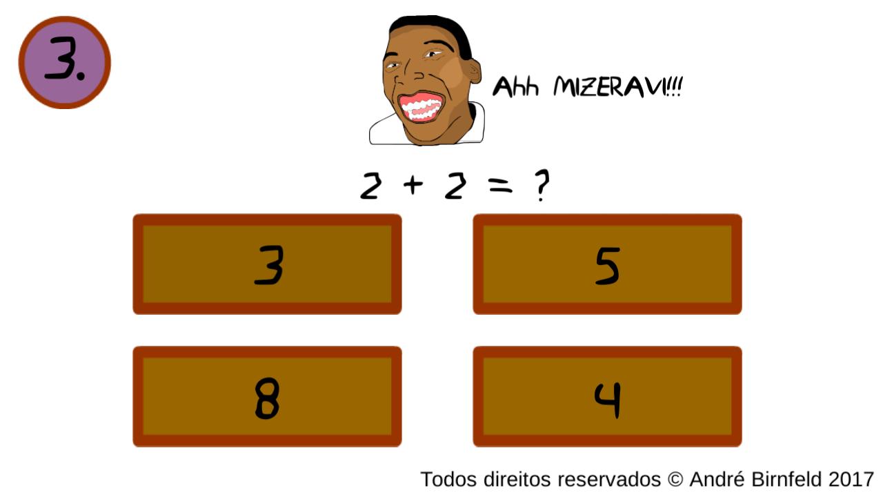 Gênio Quiz Memes questão 3