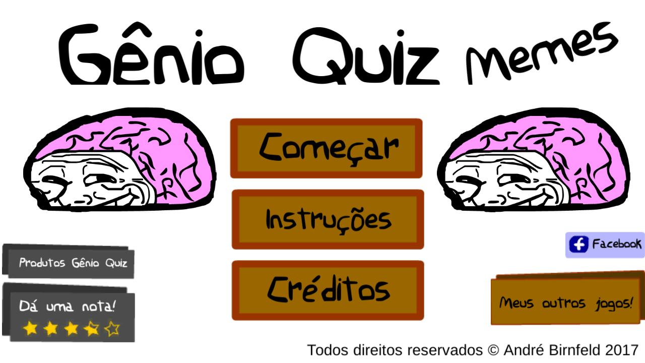 Gênio Quiz Memes