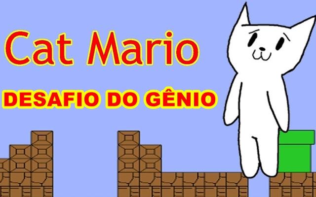 Desafio do Gênio Cat Mario