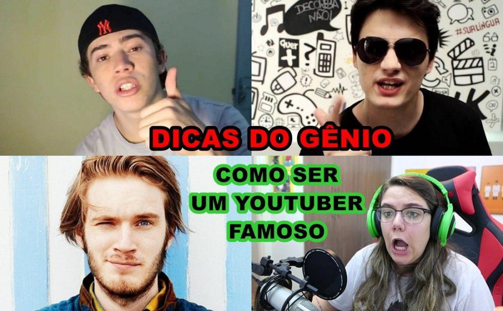 Como ser famoso no youtube, dicas para ser um youtuber famoso