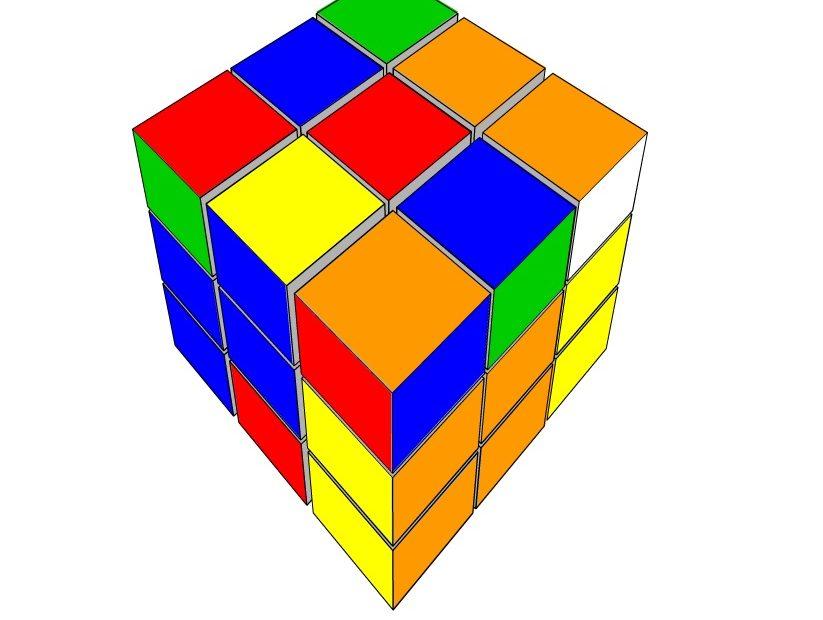 Cubo Mágico um jogo online grátis no Gênio Quiz