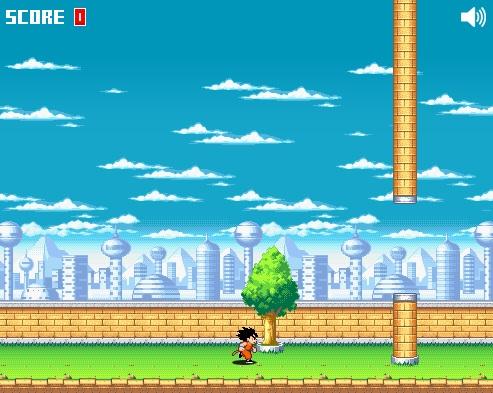 Flappy Goku jogue grátis